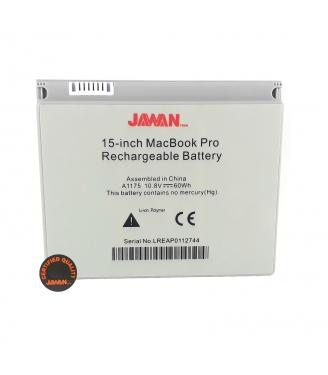 "Batería para portátil Macbook Pro 15"" A1175"